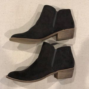 Dolce Vita Shoes - Dolce Vita NEW DV8 Gray Micro Suede Booties 8
